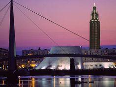 Le Havre, ville portuaire classée au patrimoine mondial de l'UNESCO