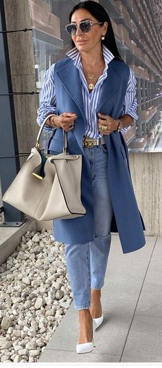 Classic Outfits For Women, Stylish Clothes For Women, Mode Outfits, Stylish Outfits, Fashion Outfits, Womens Fashion, Spring Summer Fashion, Autumn Fashion, Classy Yet Trendy
