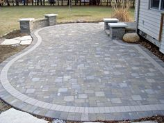 pavers - like the pattern, need darker stones