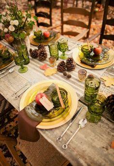 La mesa es bella