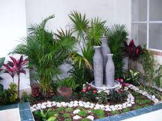 diseños de jardines exteriores