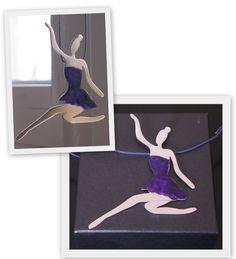 jewel/ handmade/ pendant/ 925 silver/ ballerina
