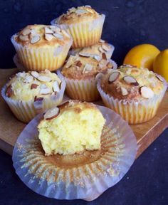 Wouldn't these be wonderful for Easter brunch? or ANY breakfast or brunch? Gluten-Free Lemon Ricotta Cake Muffins recipe.