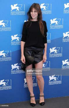 Charlotte Gainsbourg attends '3 Coeurs' Photocall at Palazzo del Cinema on August 30, 2014 in Venice, Italy.