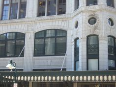 Halle's Department Store Building Downtown Cleveland, Department Store, Back In The Day, Ohio, Mansions, House Styles, City, Building, Home Decor