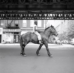 Vivian Maier, I was introduced to her Street Photography a few months ago and I love it!