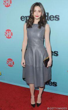 Graue Maus? Niemals! Actress ...   Wir können nicht mehr ohne: Lederkleider in coolen Styles