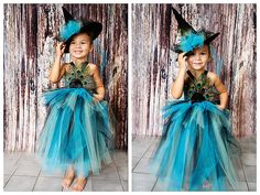 Peacock Witch costume