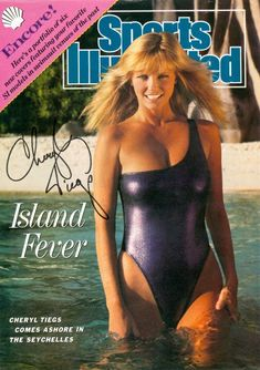 Cheryl on the cover of Sports Illustrated Swimsuit Edition magazine on location in the Seychelles, Cheryl Teigs, Soccer Problems, Sports Illustrated Covers, Best Football Team, Swimsuit Edition, Princess Caroline, Si Swimsuit, Tennis Clothes, Sport Motivation