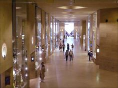 underground shopping at the louvre - Google Search