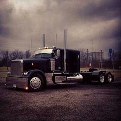 2001 peterbilt 359 poster - decor gifts diy home & living cyo giftidea Big Rig Trucks, Semi Trucks, Cool Trucks, Peterbilt 359, Freightliner Trucks, Custom Big Rigs, Custom Trucks, Western Star Trucks, Big Ride