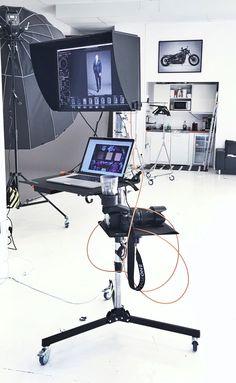 Tether Tools Pro Stefan Jönsson's In-Studio Setup with Monitor Photography Studio Equipment, Photo Studio Equipment, Photography Studio Spaces, Light Photography, Photography Business, Photography Studios, Photography Tips, Portrait Photography, Video Studio