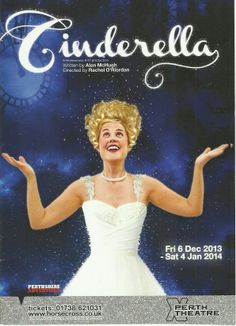Poster of Cinderella  in Perth Theatre 's Pantomime  Friday 6th December 2013 - Saturday 4th January 2014