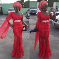 Wedding guests are slaying their Aso-Ebi outfits this 2016 and they keep unfolding new trends! Awesome and unique colors keep popping on the wedding red carpets, and we keep yearning…
