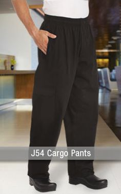 Cargo Pants for Chefs, because pockets always come in handy