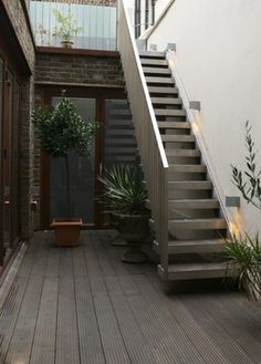 external metal staircase - Google Search