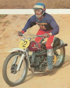 Motocross Riders, Vintage Motocross, Bmw, Dirt Bikes, Sidecar, Grand Prix, Motorbikes, Cars Motorcycles, Husky