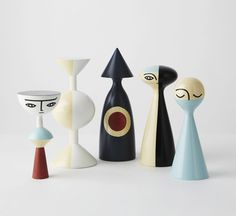 Wooden Dolls by Sarah K