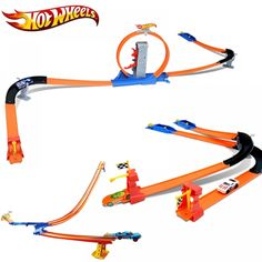 Hot Wheels Racing Car 3 IN 1 Set Easy Style High Speed Competition Car Hotwheels Track Toy Children Day Gift For Kid Model Hot Wheels, Racing Font, Computer Gadgets, Electronics Gadgets, Hotwheels Track, Slot Car Sets, Children's Day Gift, Popular Toys, Child Day