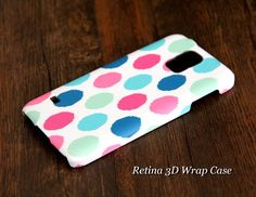 Color Dots Samsung Galaxy S5/S4/S3/Note 3/Note 2 3D-Wrap Case