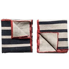 Apolis Striped Pocket Square