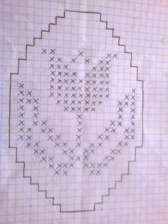 Easter Crochet Patterns, Crochet Doilies, Knitting Patterns, Victorian Christmas Ornaments, Chicken Scratch Embroidery, Filet Crochet Charts, Easter Cross, Crochet Accessories, Hand Embroidery