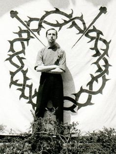 Michael Cashmore of 'Current 93' and 'Nature and Organisation.'