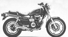 Honda CB450SC Nighthawk