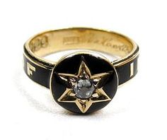victorian ring mourning