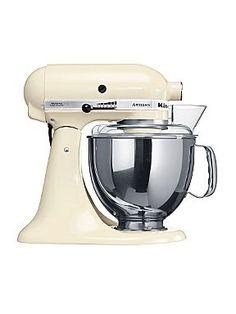 Artisan cream stand mixer