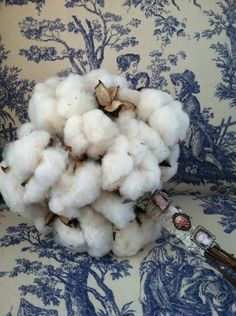 my cotton bouquet