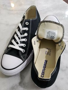 799878b13adf68 (eBay link) CONVERSE ALL STAR CHUCK TAYLOR CANVAS SHOES LOW TOP ALL SIZE 7.5