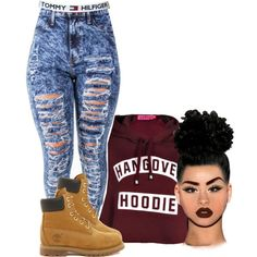 A fashion look from January 2015 featuring Boohoo hoodies and Timberland ankle booties. Browse and shop related looks. Dope Fashion, Fashion Killa, Teen Fashion, Fashion Looks, Womens Fashion, Fashion Pants, Swag Fashion, Fashion Outfits, Dope Outfits