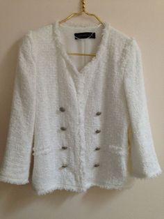 Anne Klein Trench Coat Jacket Pink Mauve Long Women's Size M Black ...