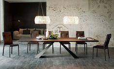 table de salle à manger Eliot-bois-Cattelan-Italia