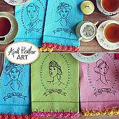 Downton Abbey Embroidery Pattern: Mary, Matthew, Edith, Sybil