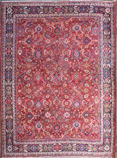 Beautiful Antique Persian Mahal Carpet See more Details visit Rug Store,  http://www.rugstoreonline.co.uk/