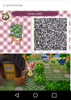 As promised, I've uploaded the QR for the cobblestones. Acnl Paths, Picnic Blanket, Outdoor Blanket, Animal Crossing 3ds, Ac New Leaf, Stone Path, Fox Hunting, Stone Painting, Things To Think About