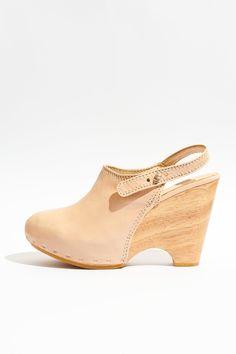 sweet peach clog heel ++ durbuy
