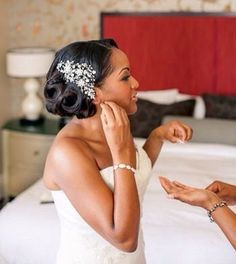 Cheveux afro : 35 idées de coiffures de mariage - Marie France, magazine féminin