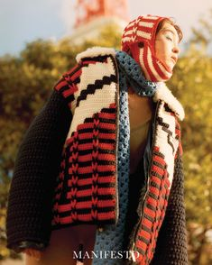 """Miu Miu on Instagram: """"Mastering crochet layering. #MiuMiuFW21 collection as seen on the pages of @ManifestoMedia September 2021. Photographed @taksugita…"""""""