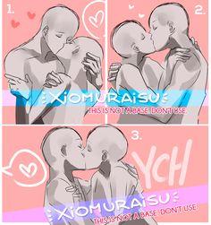 Poses Manga, Anime Poses, Ship Drawing, Drawing Base, Manga Drawing, Cartoon Kiss, Couple Cartoon, Character Drawing, Character Design
