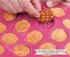 Forma para Mini Waffle Round