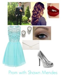 Prom with Shawn Mendes by skyebyrd on Polyvore featuring polyvore, fashion, style, Laced In Love, Vera Bradley and Charlotte Tilbury