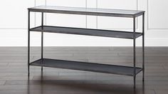 Kyra Console Table in Coffee Tables & Side Tables | Crate and Barrel