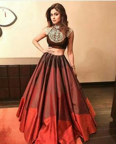 Indian style lehenga by Manish malhotra