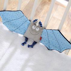 Sigikid 4109Doudou a forma di pipistrello, Baby Bite Me, per bambini e bambine: Amazon.it: Prima infanzia