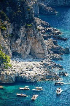 Capri, Italy #VisitingItaly