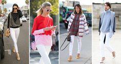 Białe spodnie rurki - Miss Selfridge, More & More, Hexeline, Only