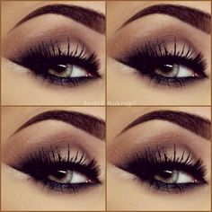 Pretty Smokey Eyes Makeup Ideas by Trends Style